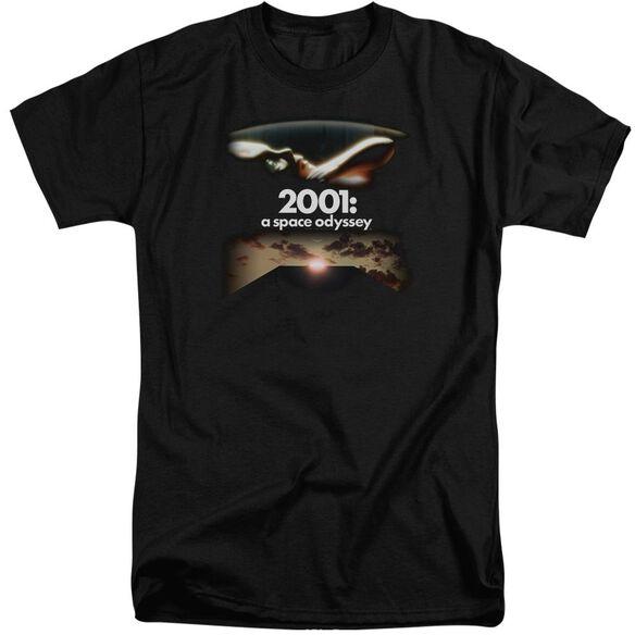 2001 A Space Odyssey Prologue Epilogue Short Sleeve Adult Tall T-Shirt