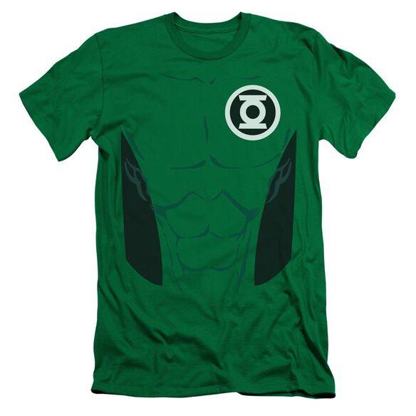 Lantern Kyle Rayner Short Sleeve Adult Kelly T-Shirt
