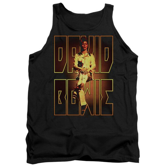 David Bowie Perched Adult Tank