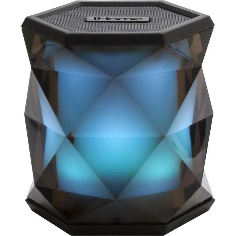iHome Light-up Portable Bluetooth Speaker - Black | FYE