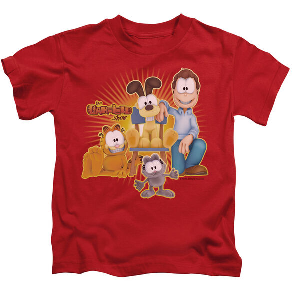 GARFIELD SAY CHEESE - S/S JUVENILE 18/1 - RED - T-Shirt