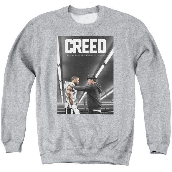 Creed Poster Adult Crewneck Sweatshirt Athletic