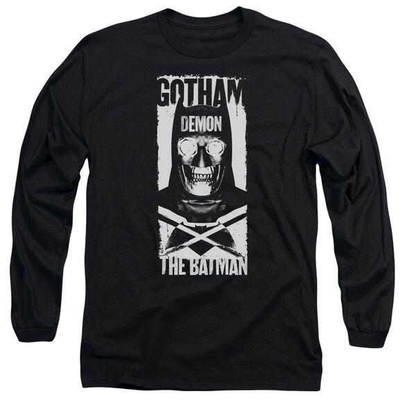 Batman V Superman Demon Bat Long Sleeve Adult T-Shirt