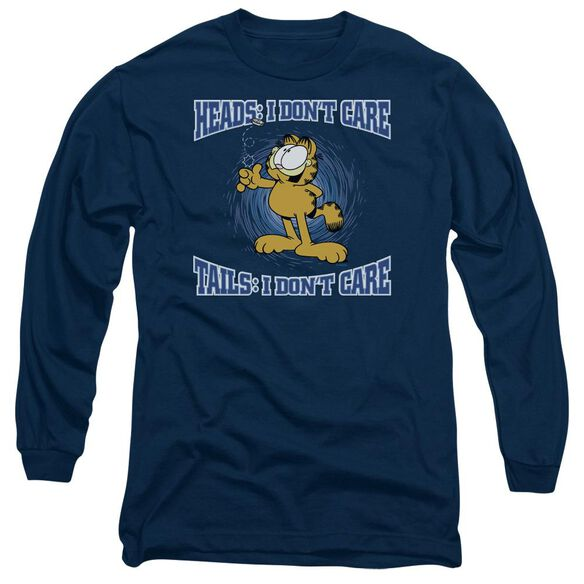Garfield Heads Or Tails Long Sleeve Adult T-Shirt