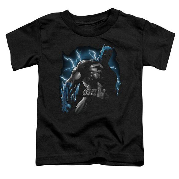 Batman Gotham Lightning Short Sleeve Toddler Tee Black Sm T-Shirt