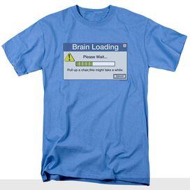 BRAIN LOADING - ADULT 18/1 - CAROLINA BLUE T-Shirt