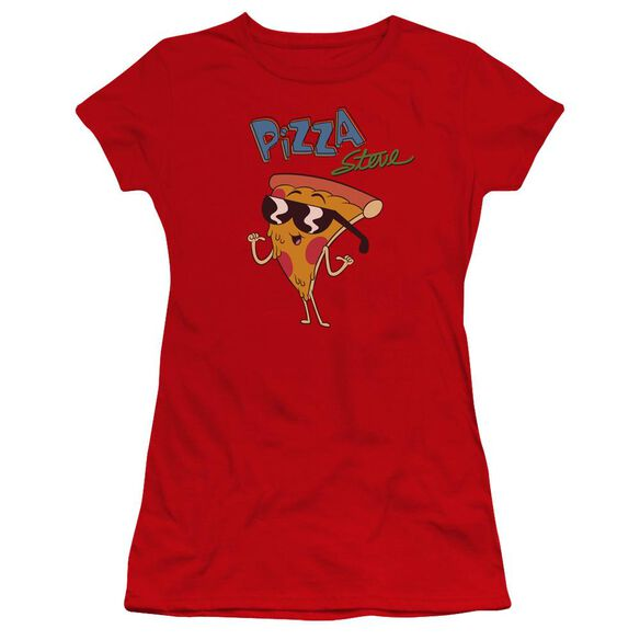Uncle Grandpa Pizza Steve Hbo Short Sleeve Junior Sheer T-Shirt