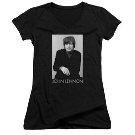 John Lennon Ex Beatle Junior V Neck T-Shirt