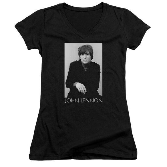 John Lennon Ex Beatle Junior V Neck T-Shirt