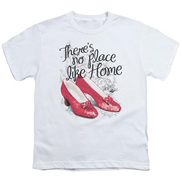 Wizard Of Oz Ruby Slippers Short Sleeve Youth T-Shirt