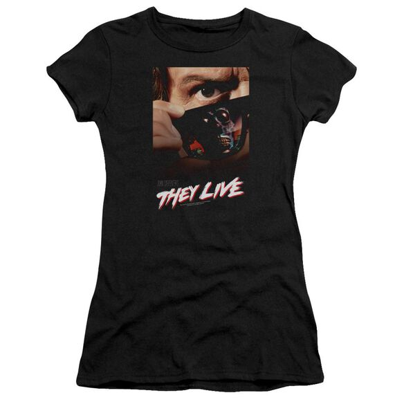 They Live Poster Premium Bella Junior Sheer Jersey