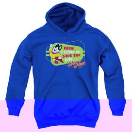 MIGHTY MOUSE HERE I COME-YOUTH PULL-OVER HOODIE