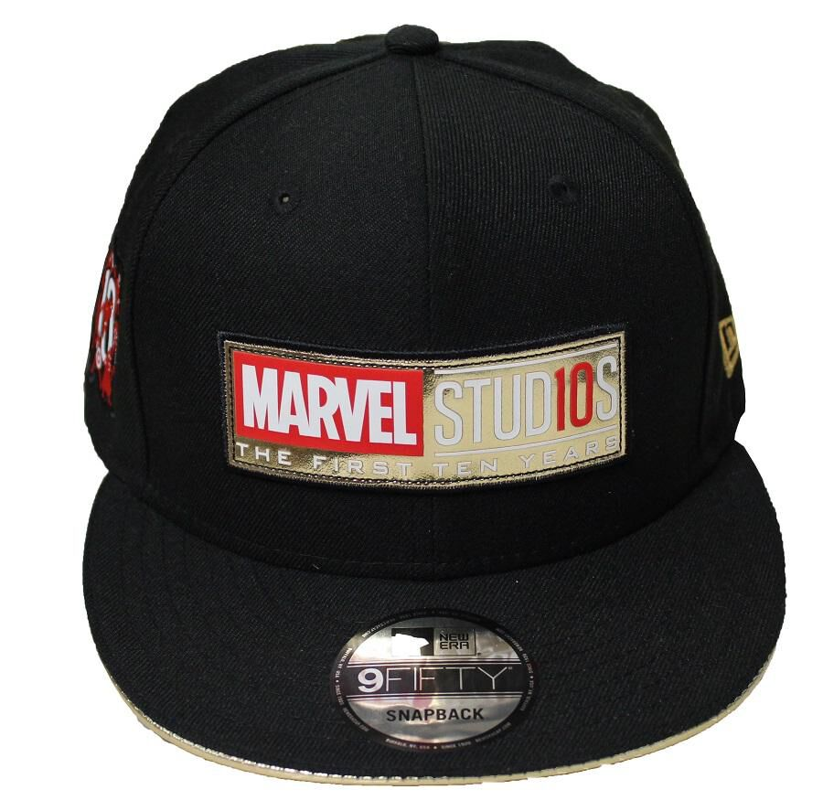 9c427857 ... where to buy marvel studios the first 10 years new era snapback hat  bcc74 083f1