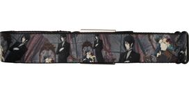 Black Butler Sebastian and Ciel Gray Seatbelt Mesh Belt