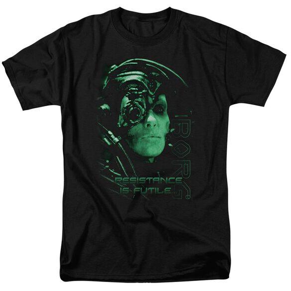 Star Trek Resistance Is Futile Short Sleeve Adult T-Shirt