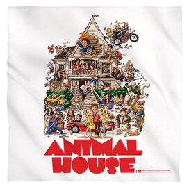 Animal House Poster Poly 22 X22 Bandana