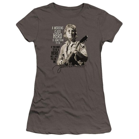 John Lennon Just Follow Me Hbo Short Sleeve Junior Sheer T-Shirt