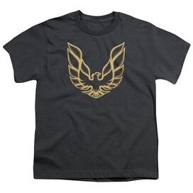 Pontiac Iconic Firebird Short Sleeve Youth T-Shirt