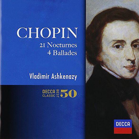 Vladimir Ashkenazy - Chopin: Nocturnes. 4 Ballades