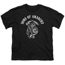 Sons Of Anarchy Soa Reaper Short Sleeve Youth T-Shirt