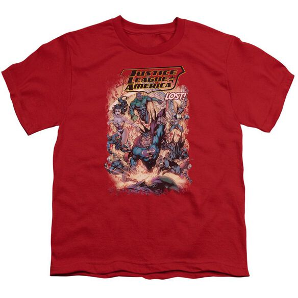 Jla Lost Short Sleeve Youth T-Shirt