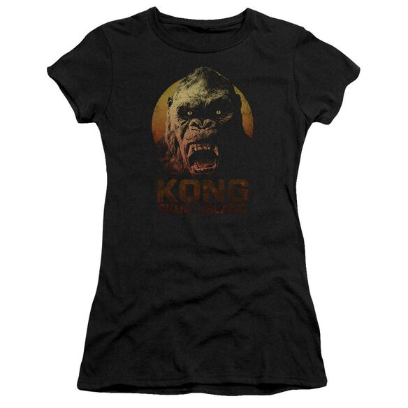 Kong Skull Island Kong Hbo Short Sleeve Junior Sheer T-Shirt