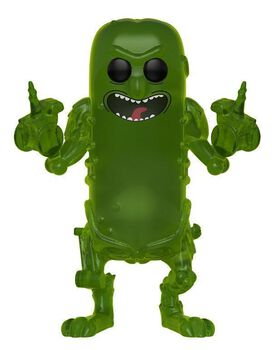 Funko Pop!: Rick & Morty Translucent Pickle Rick