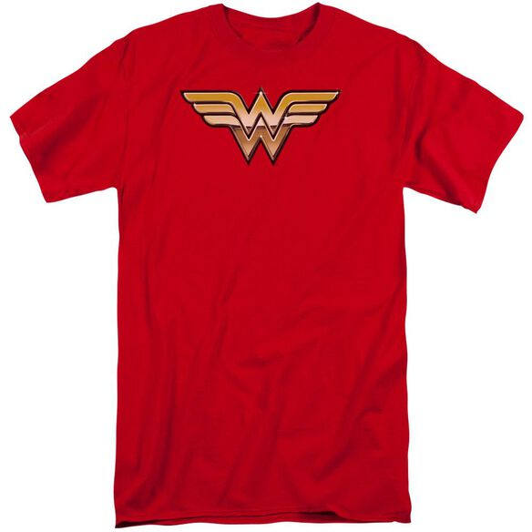 Jla Golden Short Sleeve Adult Tall T-Shirt