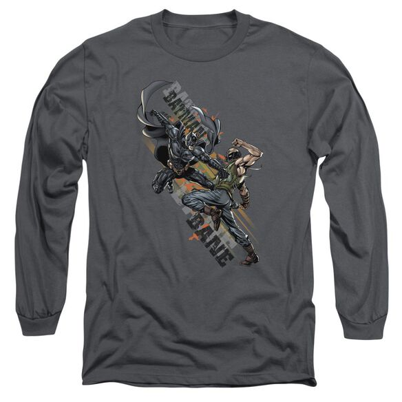 Dark Knight Rises Attack Long Sleeve Adult T-Shirt