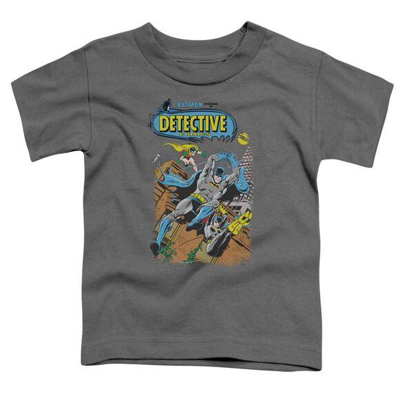 Batman Detective #487 Short Sleeve Toddler Tee Charcoal T-Shirt