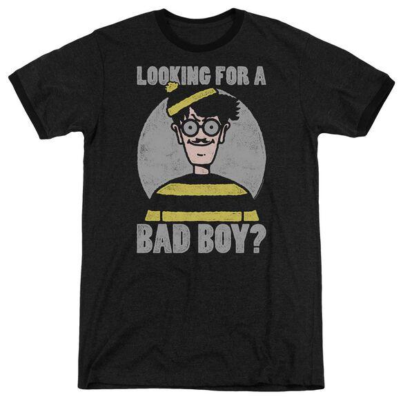 Wheres Waldo Bad Boy Adult Ringer