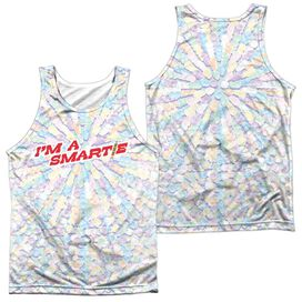 Smarties Candy Explosion (Front Back Print) Adult 100% Poly Tank Top