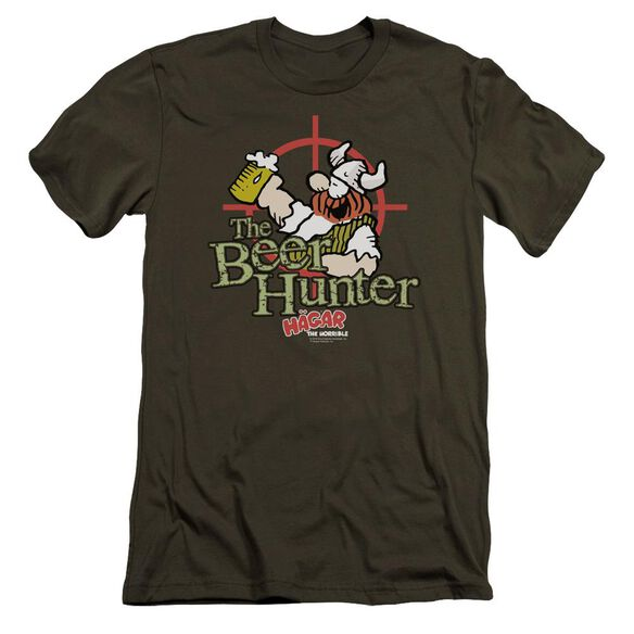 Hagar The Horrible Beer Hunter Premuim Canvas Adult Slim Fit Military