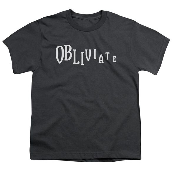 Harry Potter Obliviate Short Sleeve Youth T-Shirt