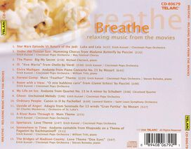 Various Artists - Breathe: Relaxing Music from the Movies