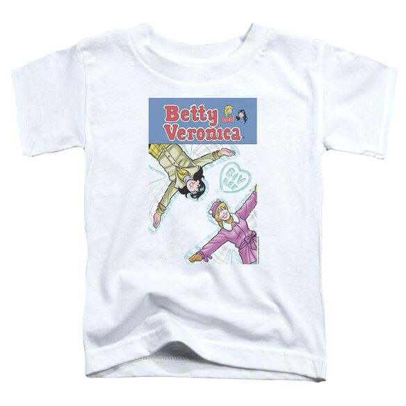 Archie Comics Cover 257 Snow Angels Short Sleeve Toddler Tee White Lg T-Shirt