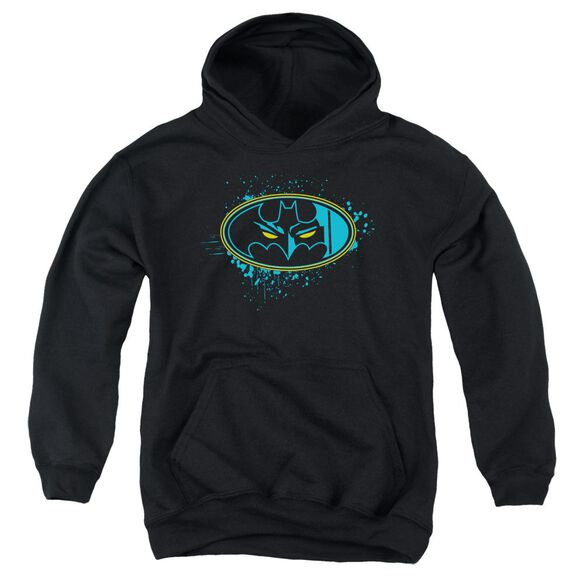 Batman Eyes In The Darkness Youth Pull Over Hoodie