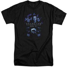 Sg1 Sg1 Stargate Command Short Sleeve Adult Tall T-Shirt