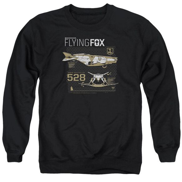 Justice League Movie Flying Fox Adult Crewneck Sweatshirt