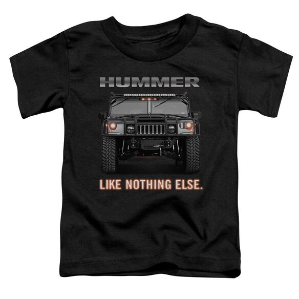 Hummer Like Nothing Else Short Sleeve Toddler Tee Charcoal T-Shirt