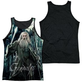 Hobbit Wizard Adult Poly Tank Top Black Back