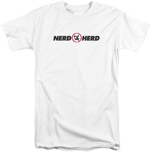 Chuck Nerd Herd Short Sleeve Adult Tall T-Shirt