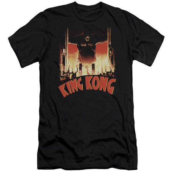 King Kong At The Gates Premuim Canvas Adult Slim Fit