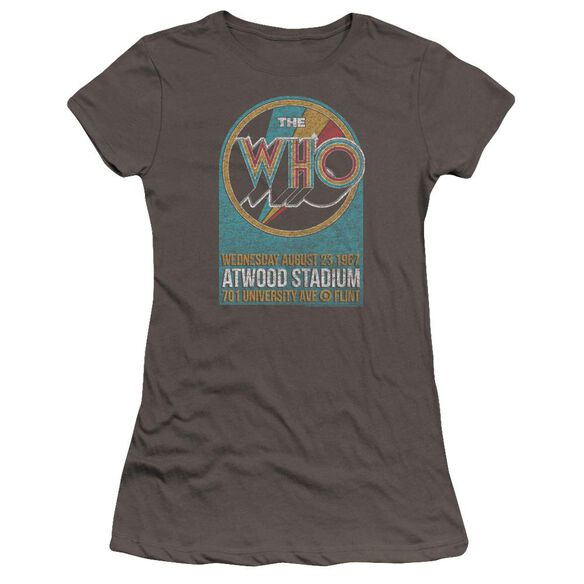 The Who Atwood Stadium Hbo Short Sleeve Junior Sheer T-Shirt