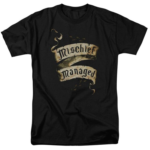 Harry Potter Mischief Managed Short Sleeve Adult T-Shirt