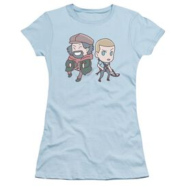 Valiant Aa Chibi Short Sleeve Junior Sheer Light T-Shirt
