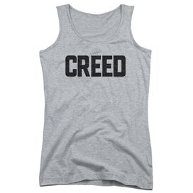 Creed Cracked Logo Juniors Tank Top Athletic