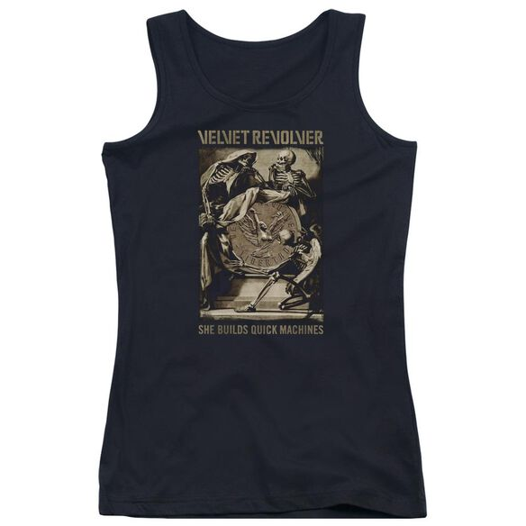 Velvet Revolver Quick Machines Juniors Tank Top