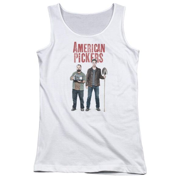American Pickers American Profit Juniors Tank Top