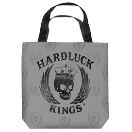 Hardluck Kings Logo Distressed Tote